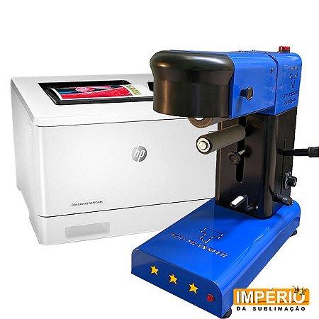 Kit Top Transfer Três Estrelas + Impressora a laser hp m454dw