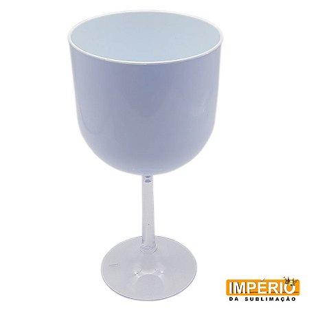 Taça Gin Branca Base Cristal P/ Sublimação