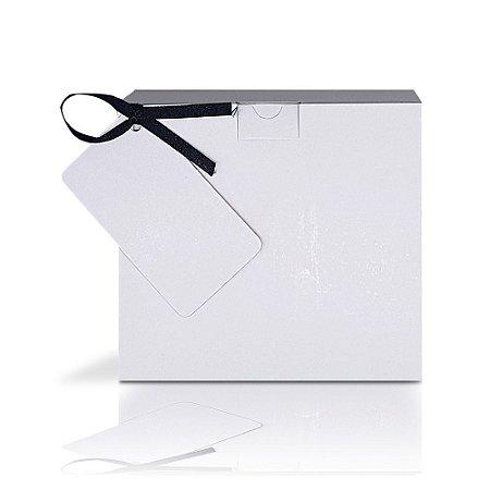 Caixinha Branca para Caneca com Tag (11oz) - 12 unidades
