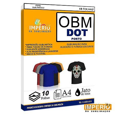 Papel OBM DOT PONTO PCT C/10uni (P/ Sublimação)