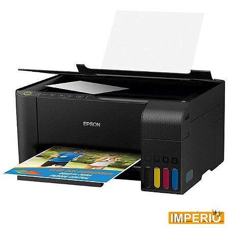 Impressora Epson L3150 C/ WIFI, Scanner e Tanque de Tinta Sublimática