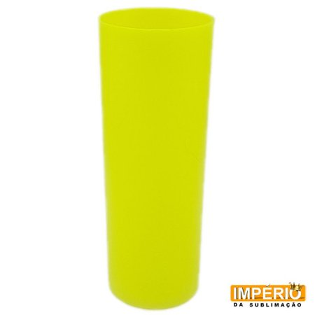 Long drink amarelo florecente