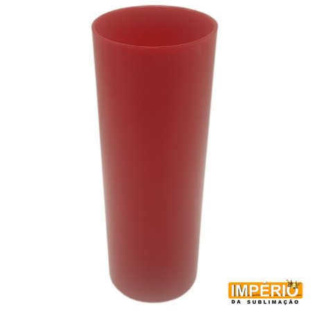 Long drink vermelho leitoso