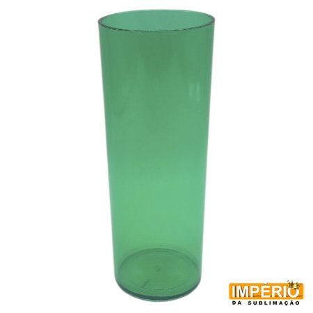 Long drink verde translucido