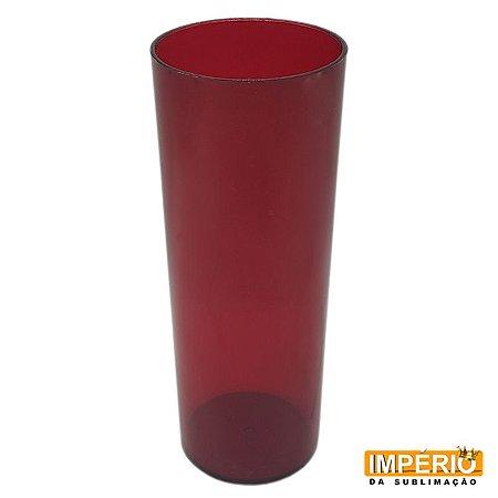 Copo Long Drink Translúcido Rubi