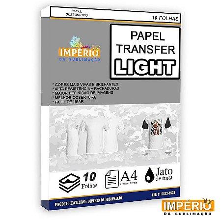 Papel transfer light vision A4 10 folhas