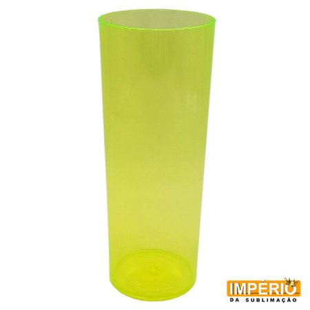 Long drink amarelo neon