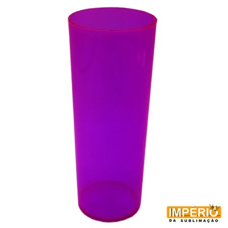 Copo Long Drink Neon Roxo