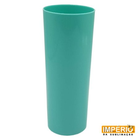 Copo Long Drink Leitoso Azul Tiffany