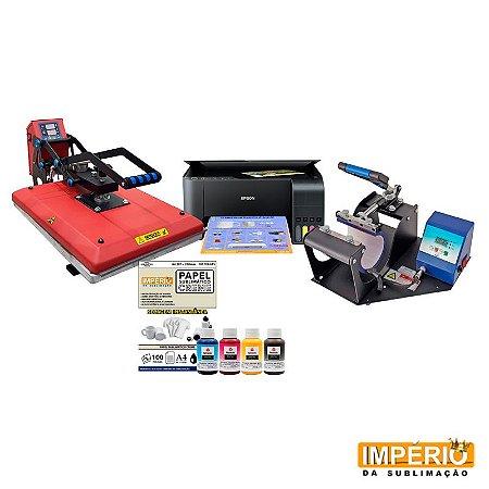 kit prensa plana 40x50 mecolour