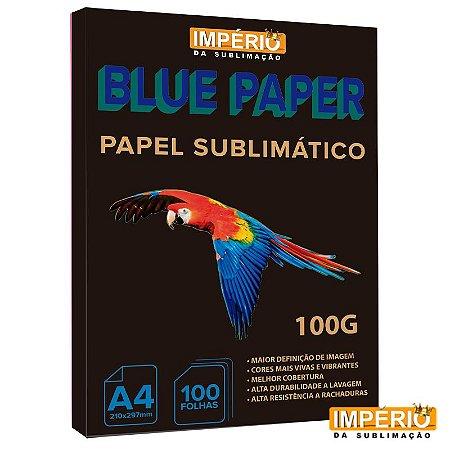 Papel A4 BluePaper 100g. para Sublimação - 100 folhas
