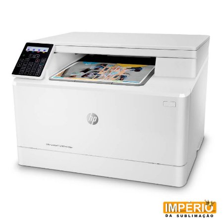 Impressora HP Color LaserJet Pro MFP M182nw 220V