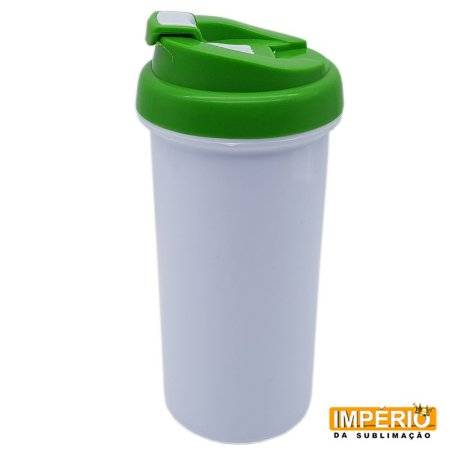 Squeeze Térmico Plástico Polímero Tampa Verde