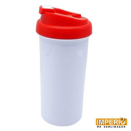 Squeeze Plástico Polímero Tampa Vermelha
