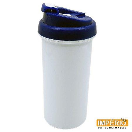 Squeeze Térmico Plástico Polímero Tampa Azul