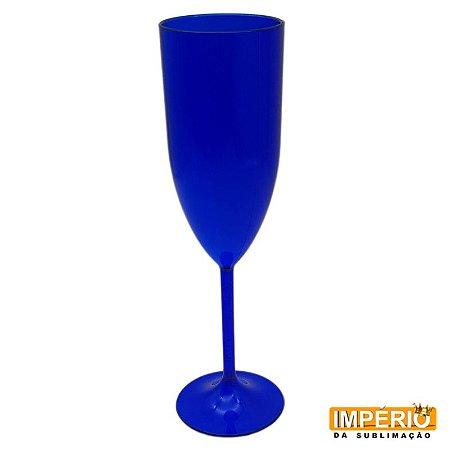 Taça acrílica azul bic