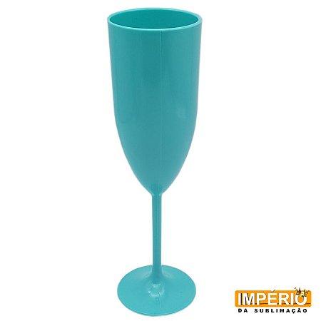 Taça acrílica azul bebe