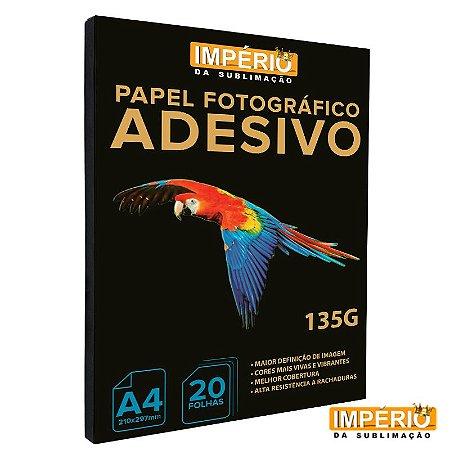 Papel Fotográfico Adesivo 135g Império 20 folhas