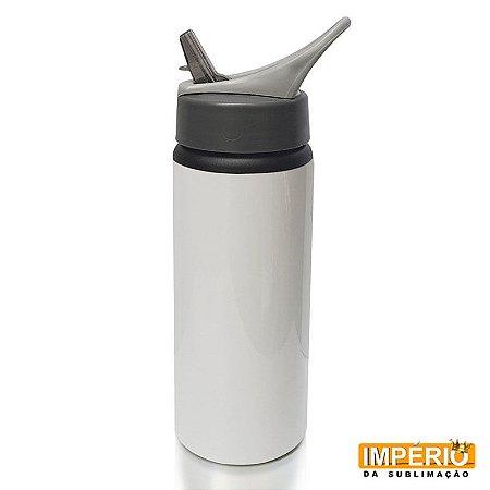 Squeeze Sport Branco de 600ml para sublimação
