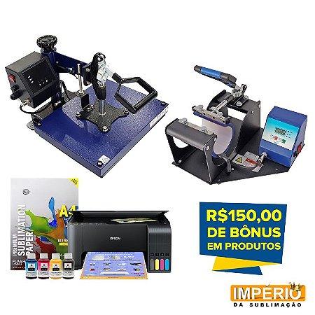 Kit prensa plana mundi premium 29x38