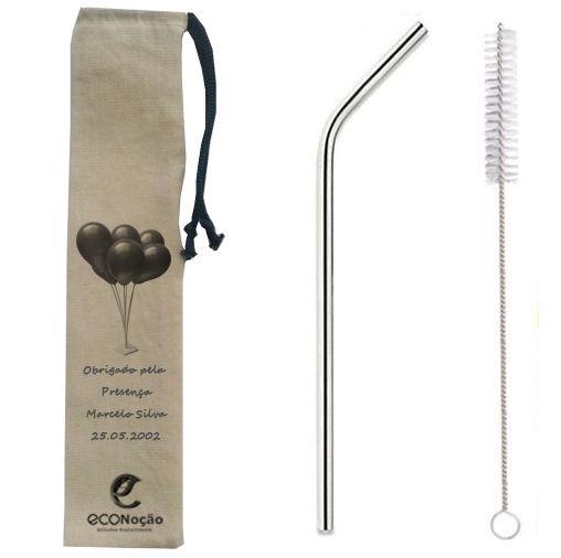 100 Kits 6mm curvos OU retos personalizados + escova +bag personalizada