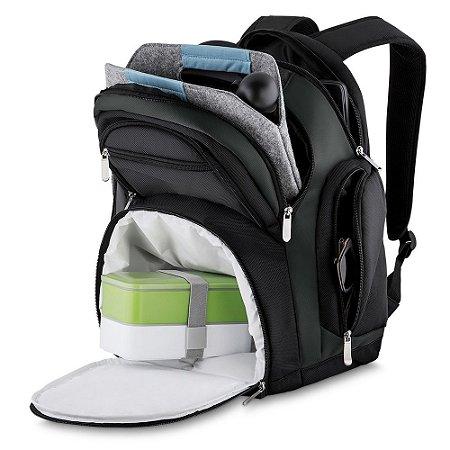 Mochila de Poliéster para Notebook com Compartimento Térmico