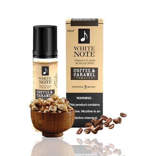 Líquido Coffe & Caramel (Tobacco)   White Note