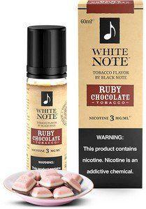 Líquido Ruby Chocolate (Tobacco) | White Note