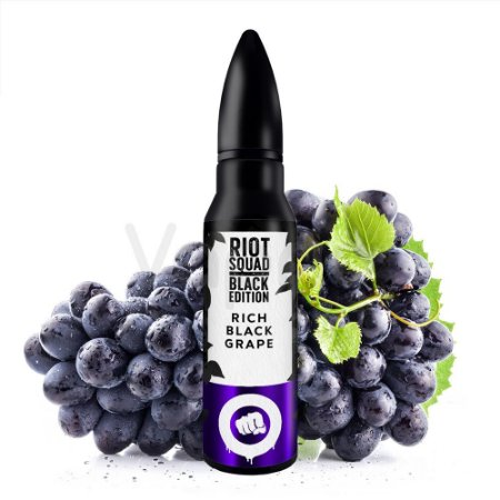 Juice Riot Squad  - Rich Black Grape - 60ml