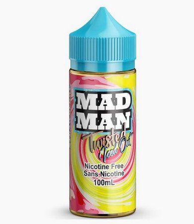 E-Liquido Twisted Lemon Strawberry (FreeBase) - Mad Man Iced Out