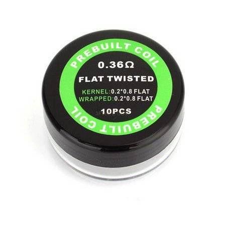Bobinas Flat Twisted 0.36OHM