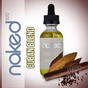 E-Liquid Naked 100 Tabacoo Cuban Blend