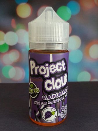 E-Liquid Blackcurrant Project Cloud Naked Nation