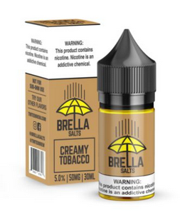 Líquido Salt Nicotine - Brella Salt - Creamy Tobacco