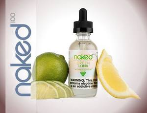 E-Liquid Naked 100 - Green Lemon