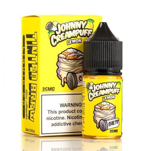 E-Liquid JOHNNY CREAMPUFF SALT NICOTINE - LEMON