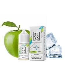 E-Liquid BLVK SALT PLUS - SOUR APPLE