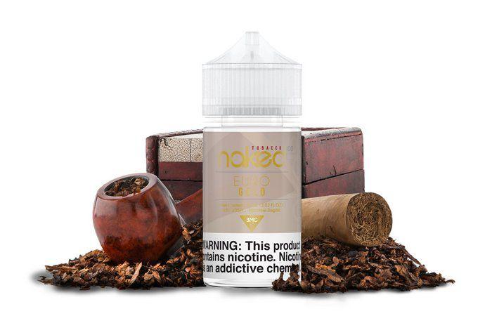 E-Liquid NAKED 100 - TOBACCO (EURO GOLD)
