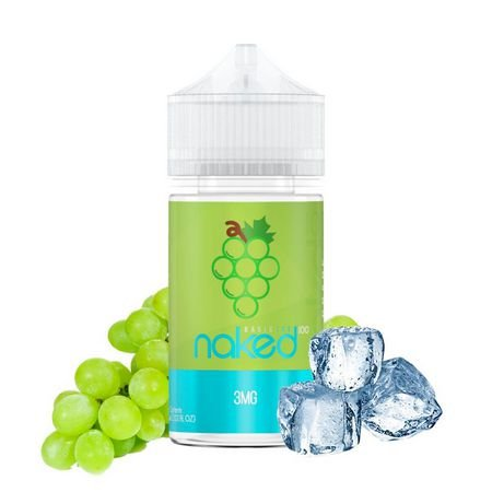 LÍQUIDO NAKED 100 - BASIC ICE - GRAPE (UVA)