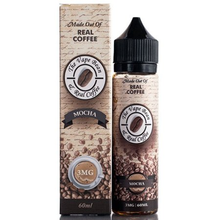 LIQUIDO THE VAPE BEAN & REAL COFFEE - MOCHA