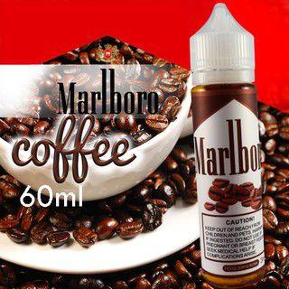 liquido marlboro tabacco coffe e-juice