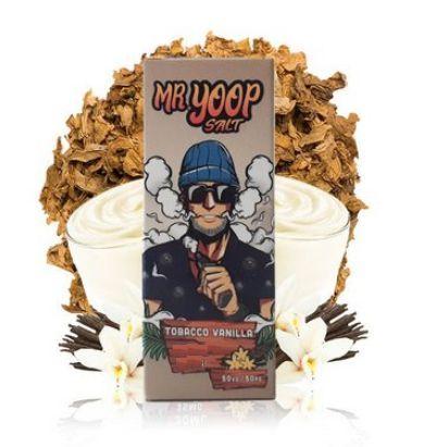 Líquido Nic Salt Tobacco Vanilla MR YOOP