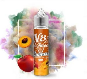 LÍQUIDO V8 E-JUICE - SPARKLING APPLE PEACH - CAMARO