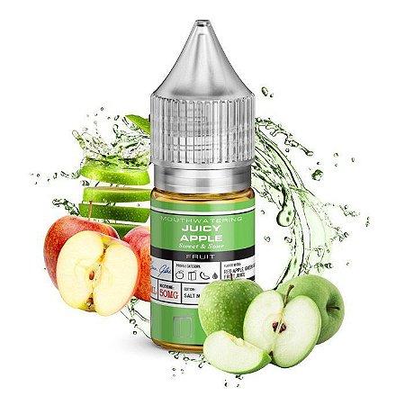 Líquido Salt Nicotine Juicy Apple - Glas