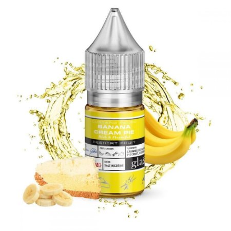 Líquido Salt Nicotine Banana Cream Pie - Glas