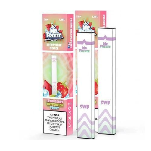 Pod Descartável Strawberry Watermelon Frost MR FREEZE