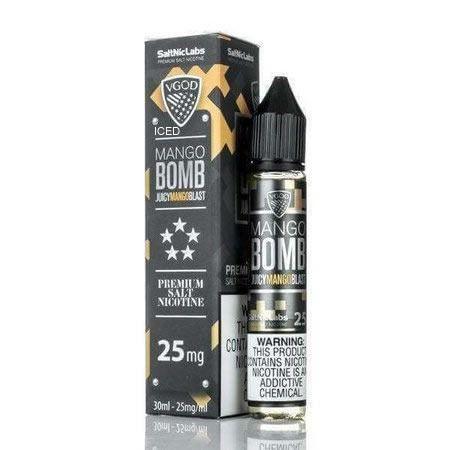 Líquido Mango Bomb Blast - Salt Nicotine - VGOD
