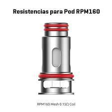 RESISTENCIAS PARA POD RPM160 0,15Ω – SMOK POD RPM160