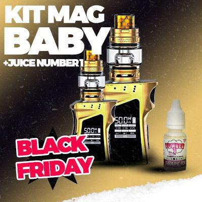 KIT MAG BABY SMOK + JUICE - *PROMOÇÃO BLACK FRIDAY*
