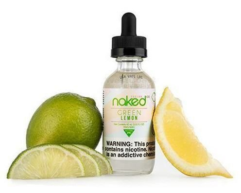 E-Liquid Naked 100 - Green Lemon